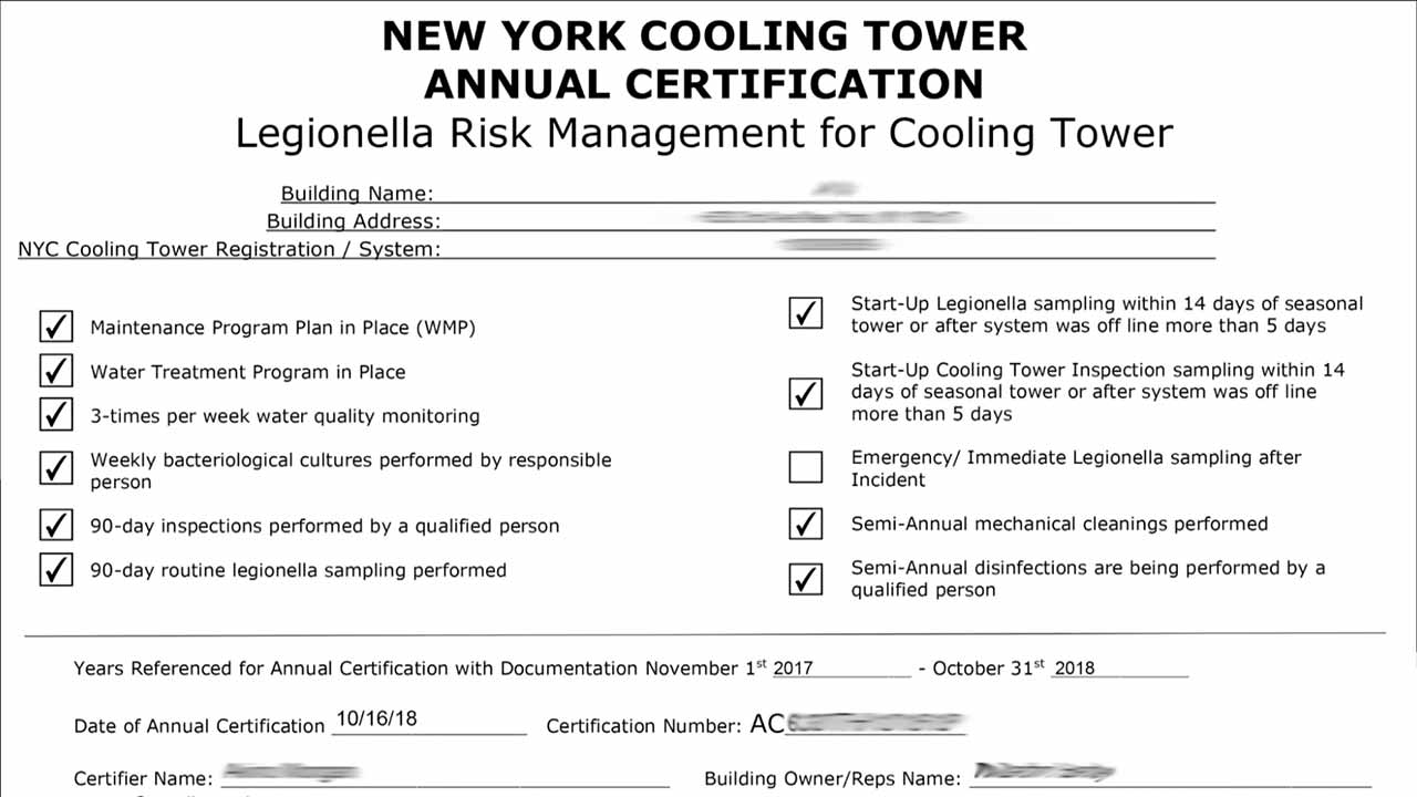 How to Perform Weekly Cooling Tower Monitoring