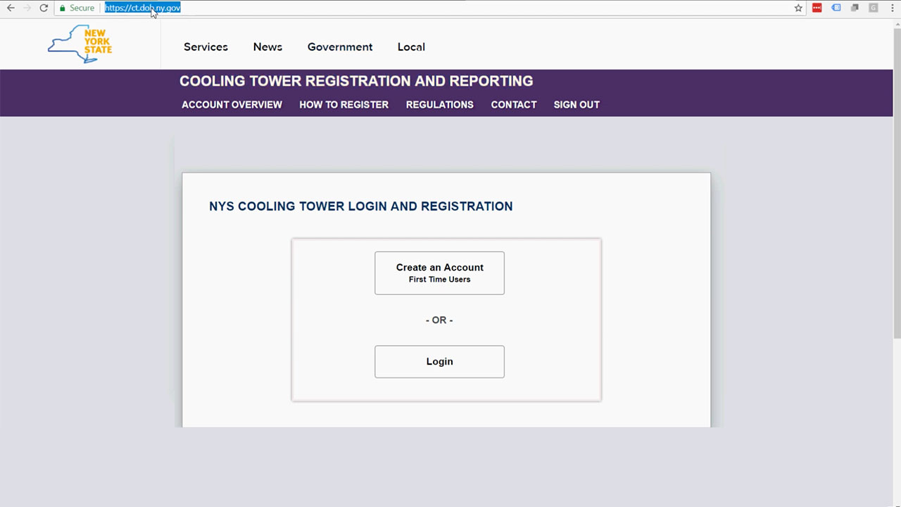 How to Update Information to the NY State Portal