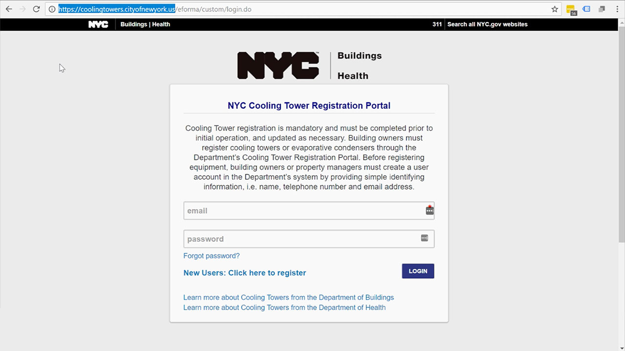 How to Upload Documents to the NYC Portal