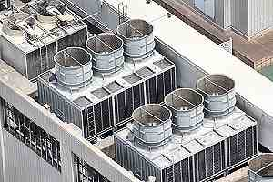 Industrial air conditioning and ventilation units. Legionella may present differently than they would for a commercial