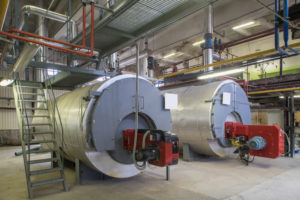 the cylindrical tanks are properly maintained as part of the building legionella prevention plan