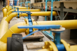 the yellow pipes are routinely inspected for defects as part of the legionella prevention plan
