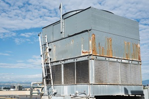 commericial cooling tower for building air conditioning systems under compliance with local law 77