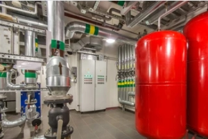 commercial water heater system